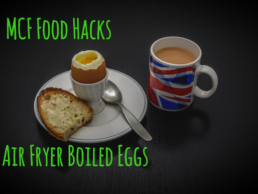 Food Hack #1: Air Fryer Boiled Eggs