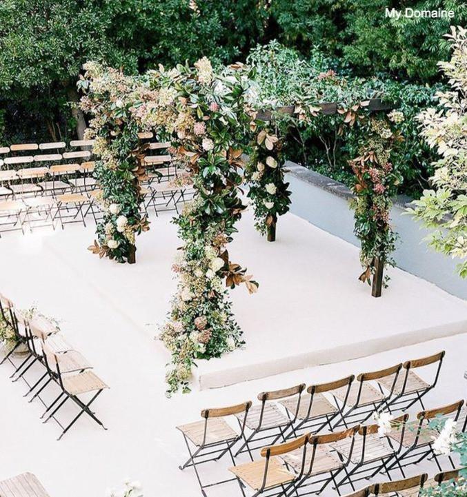 Micro Wedding Ceremony Setup