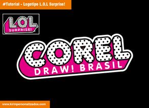 Personalizando o logo da L.O.L. Surprise!
