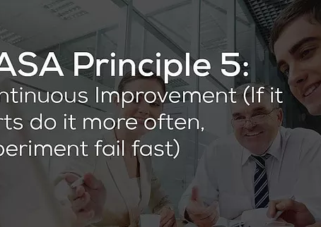 Continuous Improvement - DevOps Principle #5