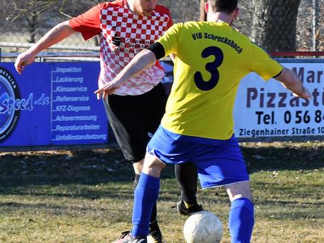 Vorbereitungsspiel am Sonntag den 24. Februar 2019 SG Obergrenzebach/Leimsfeld - VfB  2:4 (2:2)