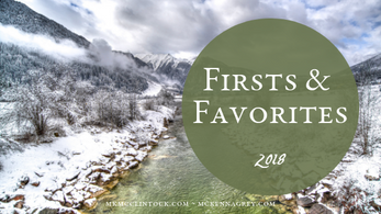 Firsts and Favorites of 2018