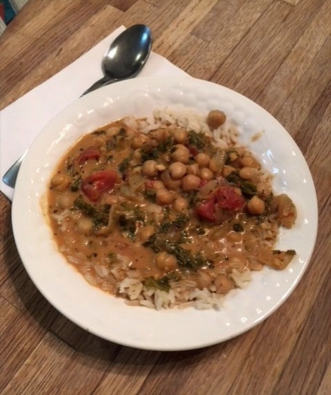 Photo of Chickpea Stew (recipe shown below)