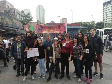 Movimento estudantil na luta contra a política genocida dos governantes.