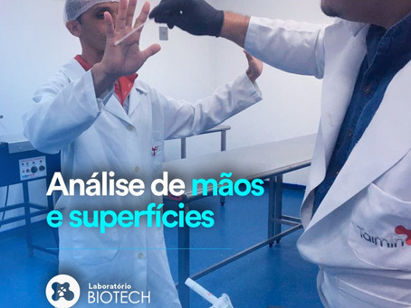Análise de Mãos e Superfícies