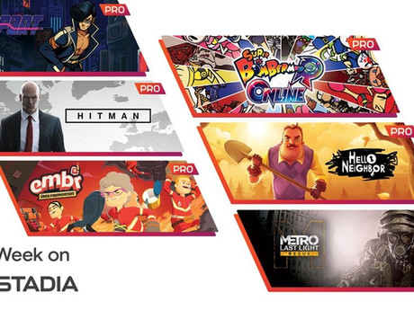Stadia news - September Stadia Pro games & more deals!