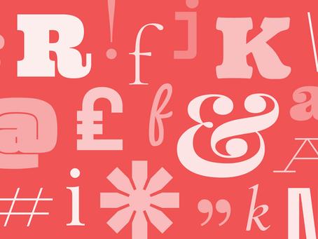 """Google Fonts – Tipografías """"a la carta""""."""