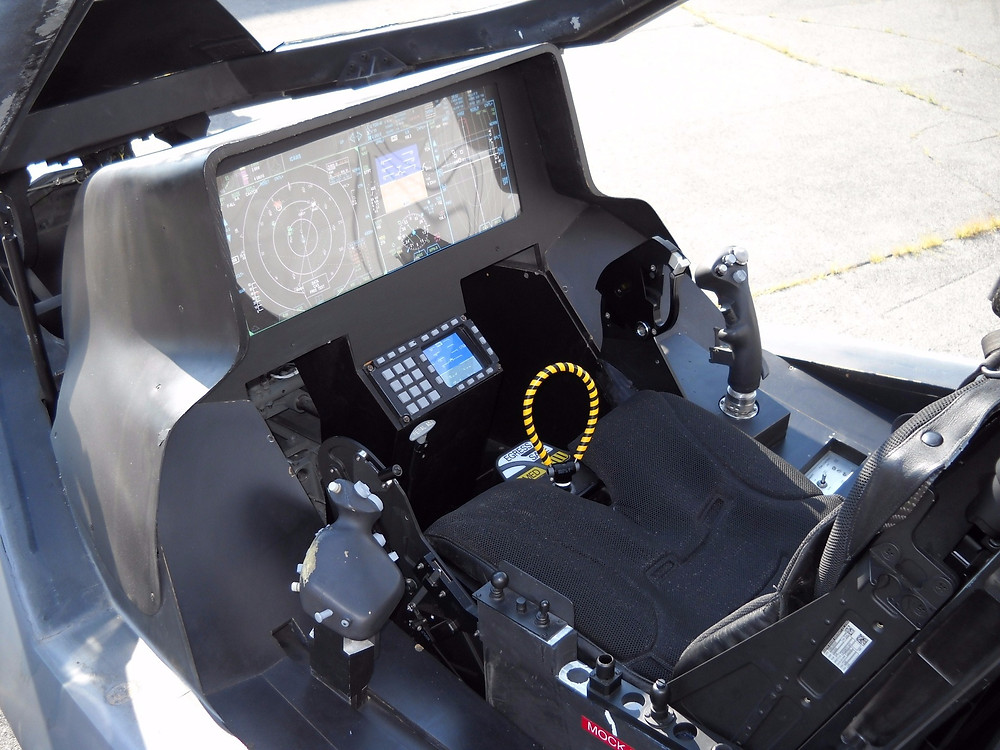 The Cockpit of the F-35 lightning II. HOTAS
