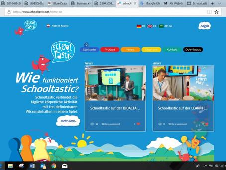 Die neue Schooltastic Homepage geht heute Online!
