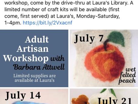 Adult Artisan Workshop
