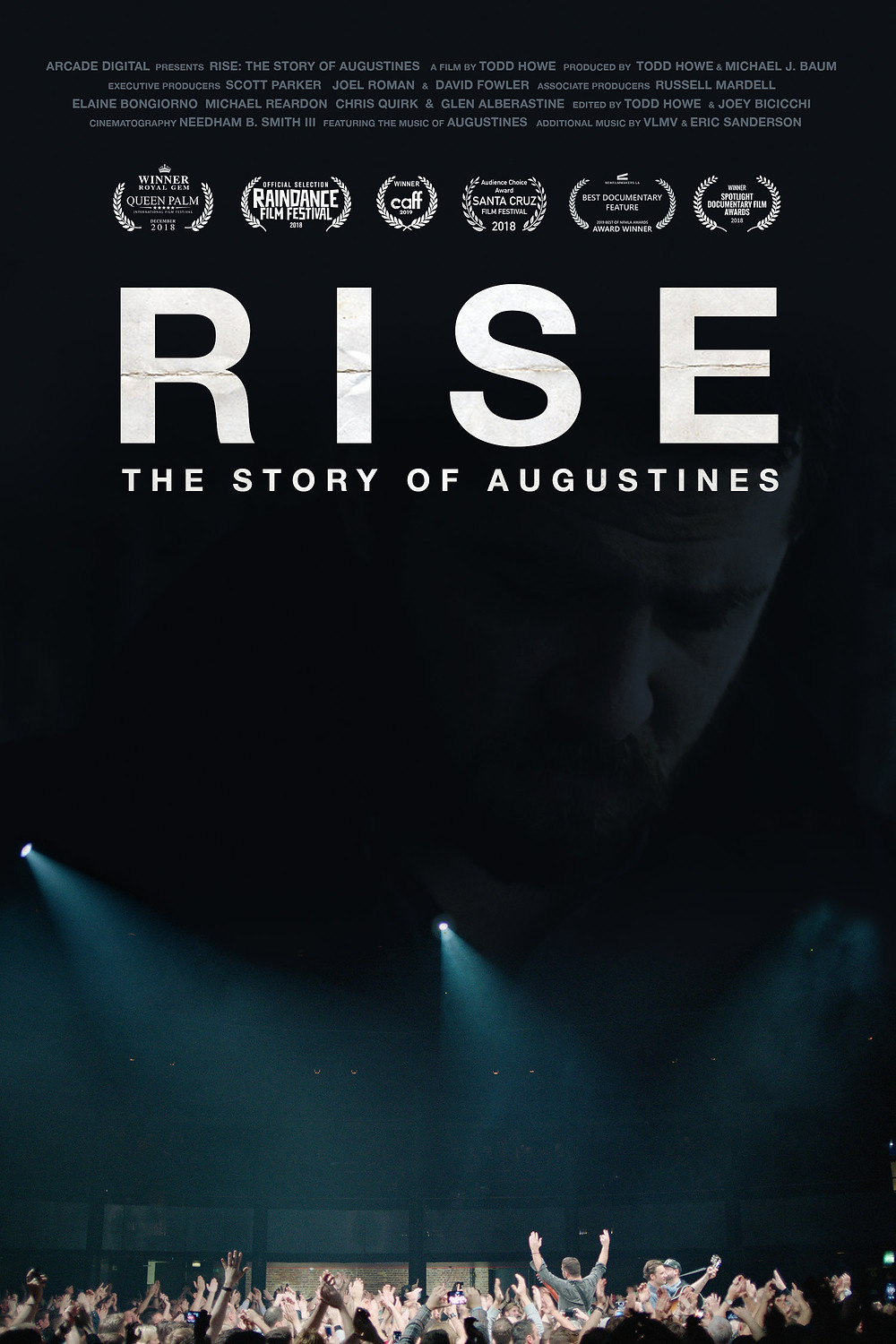 Rise: The Story of Augustines documentary poster