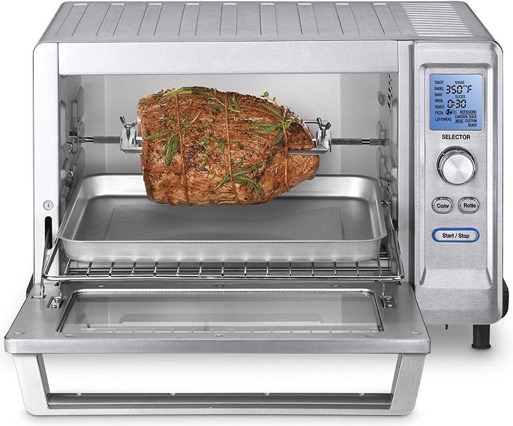 The Cuisinart TOB-200 Rotisserie Convection Toaster Oven