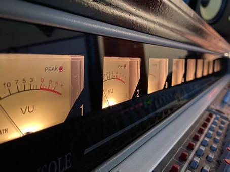 Recording #2 the next 3 Songs - Rosenquarz Tonstudio