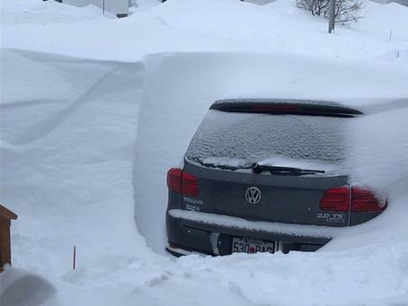 Winter storm buries Sept-Iles, QC