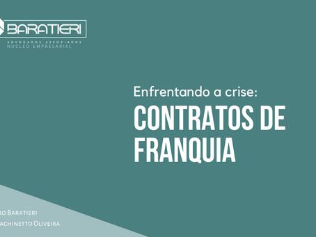 Enfrentando a crise: contratos de Franquia