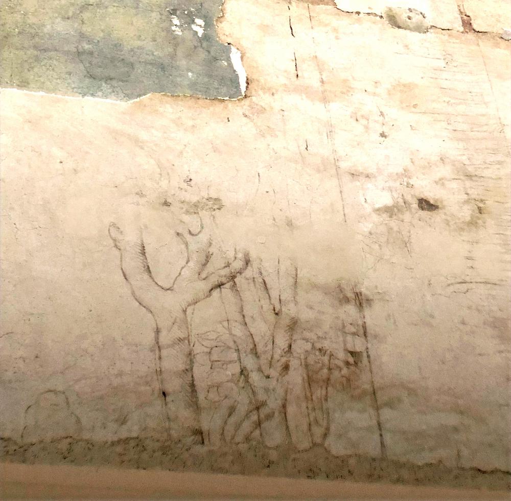 Leonardo da Vinci's Scetches in Milan Italy
