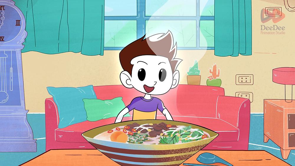 "video animation ""Strong Vietnam"""