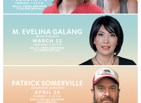Cornell Reading Series Announces Spring 2020 Lineup
