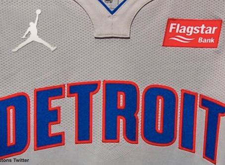 Pistons' Fans Furious With Jordan's 'Jumpman' on Jerseys in 2020-21