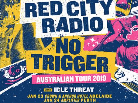 Red City Radio & No Trigger Announce Aussie Tour!