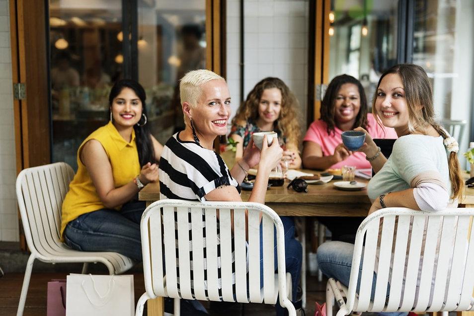 diversity-women-socialize-unity-together