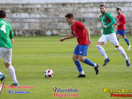 El Villarrobledo mejora en la segunda mitad y vence 4-2 a un gran Atlético Ibañés