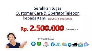 Layanan Outsourcing Call center, Telecollection & Telesales dari Artatel - amp