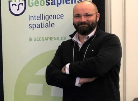 L'équipe Geosapiens : Sébastien Raymond
