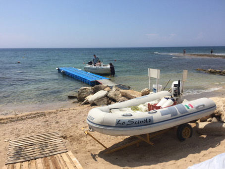 Wassersport  Lo Scivolo Verleih