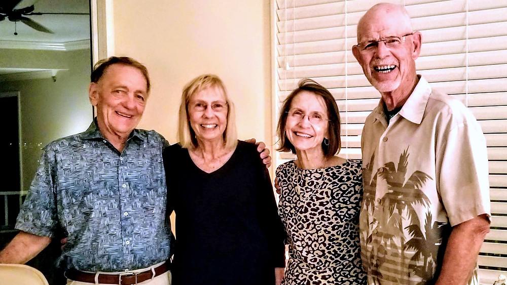 David Berolzheimer, Elaine Dermody, Bonnie Starr & Win Dermody