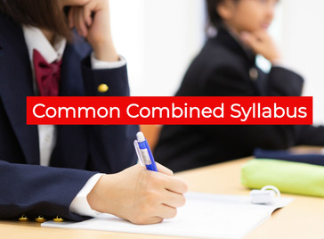 Common Combined Syllabus for any Preliminary Exam
