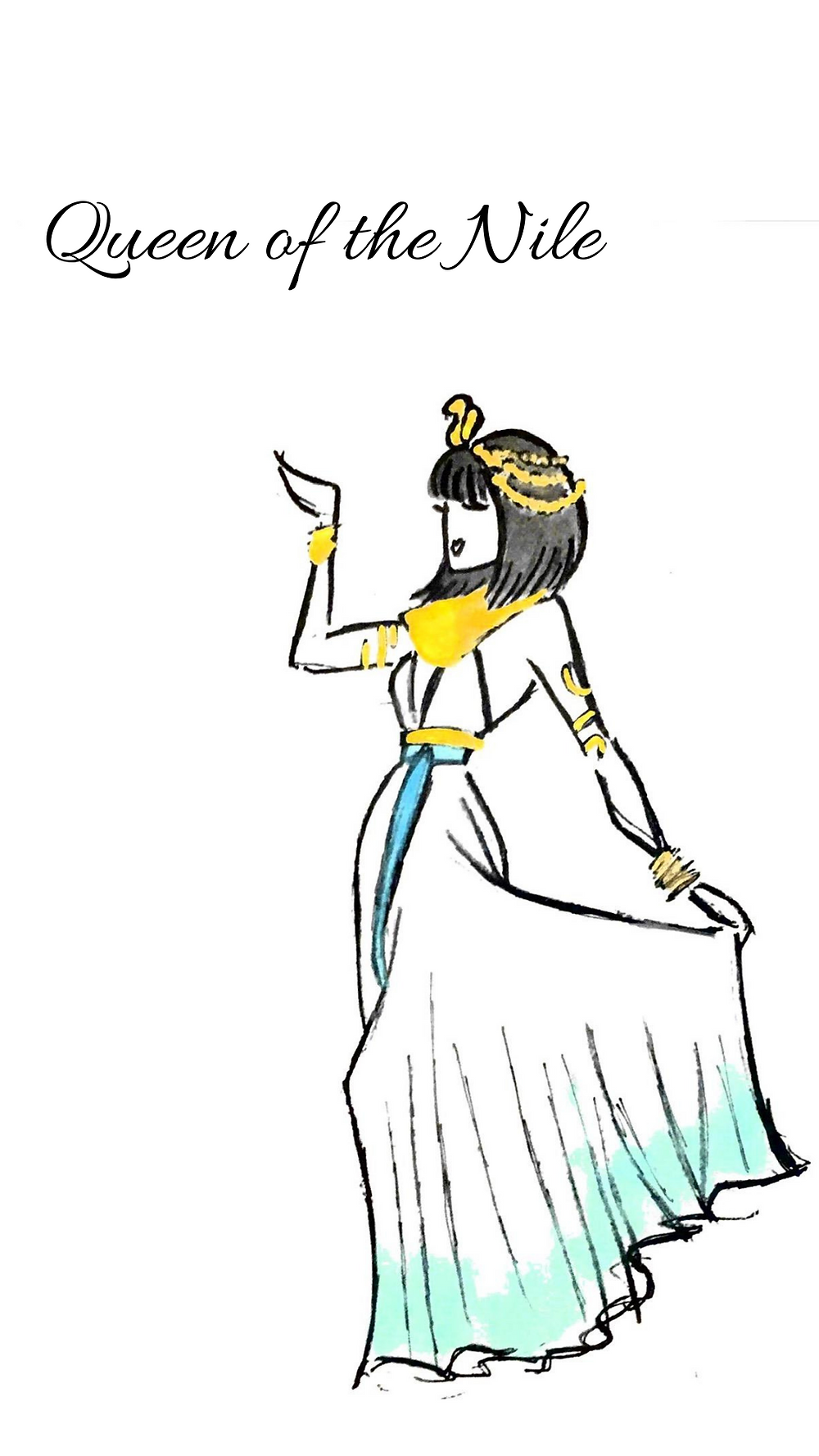 Echoing Waters Queen of the Nile Costume