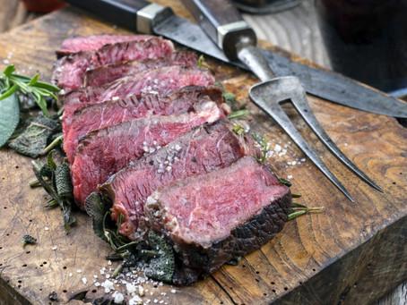 Vyzrálé hovězí maso z Osic