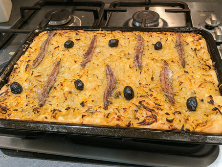 #ThatTranslatorCanCook week 38: Pissaladière