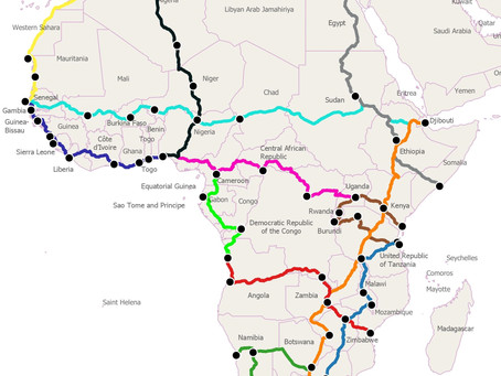Interconnecting Africa with Hydrogen