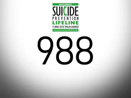 New Three-Digit Suicide Prevention Hotline Number in the Works