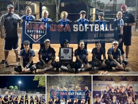"USA Softball National Qualifiers - ""The Whole Enchilada"" Tournament Champions!!!"