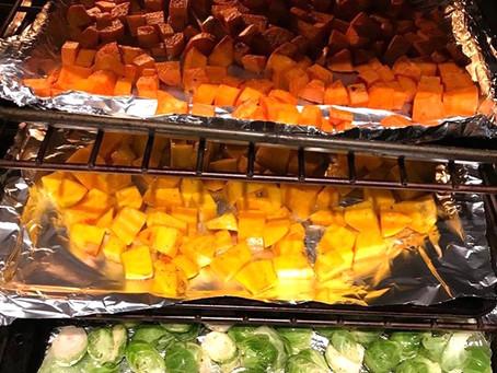 Food | Favorite Prep-Ahead Roasted Vegetables