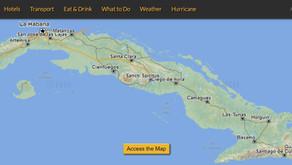 CubaMapa, carte interactive de Cuba