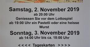 Gysensteiner Lotto im Pfadiheim