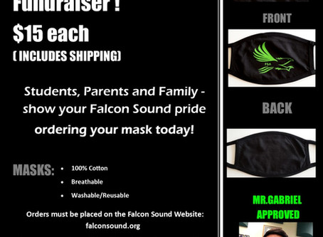 FALCON SOUND ALLIANCE MASK FUNDRAISER!