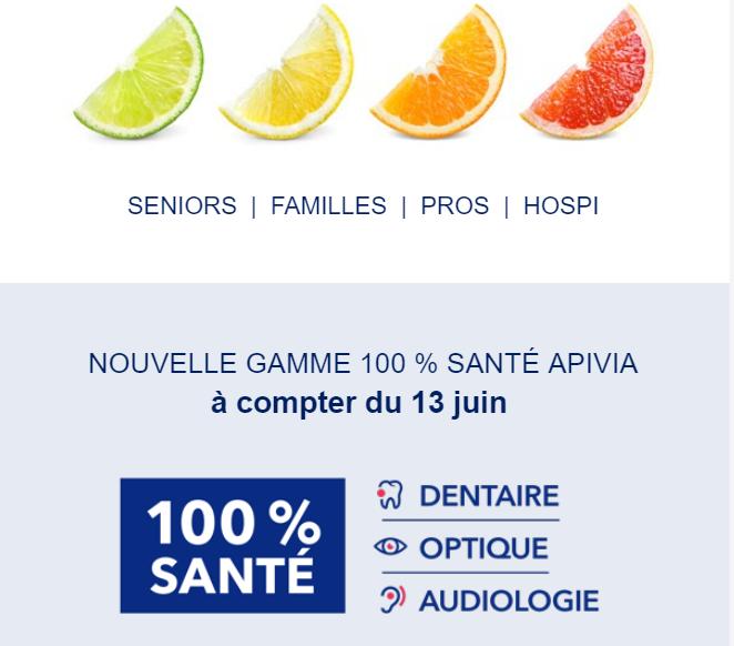 APIVIA 100% santé
