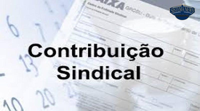 STF julgamento contribuição sindical obrigatória