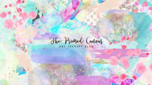 The Primed Canvas Art Therapy Blog. Prepping & Priming the canvas!