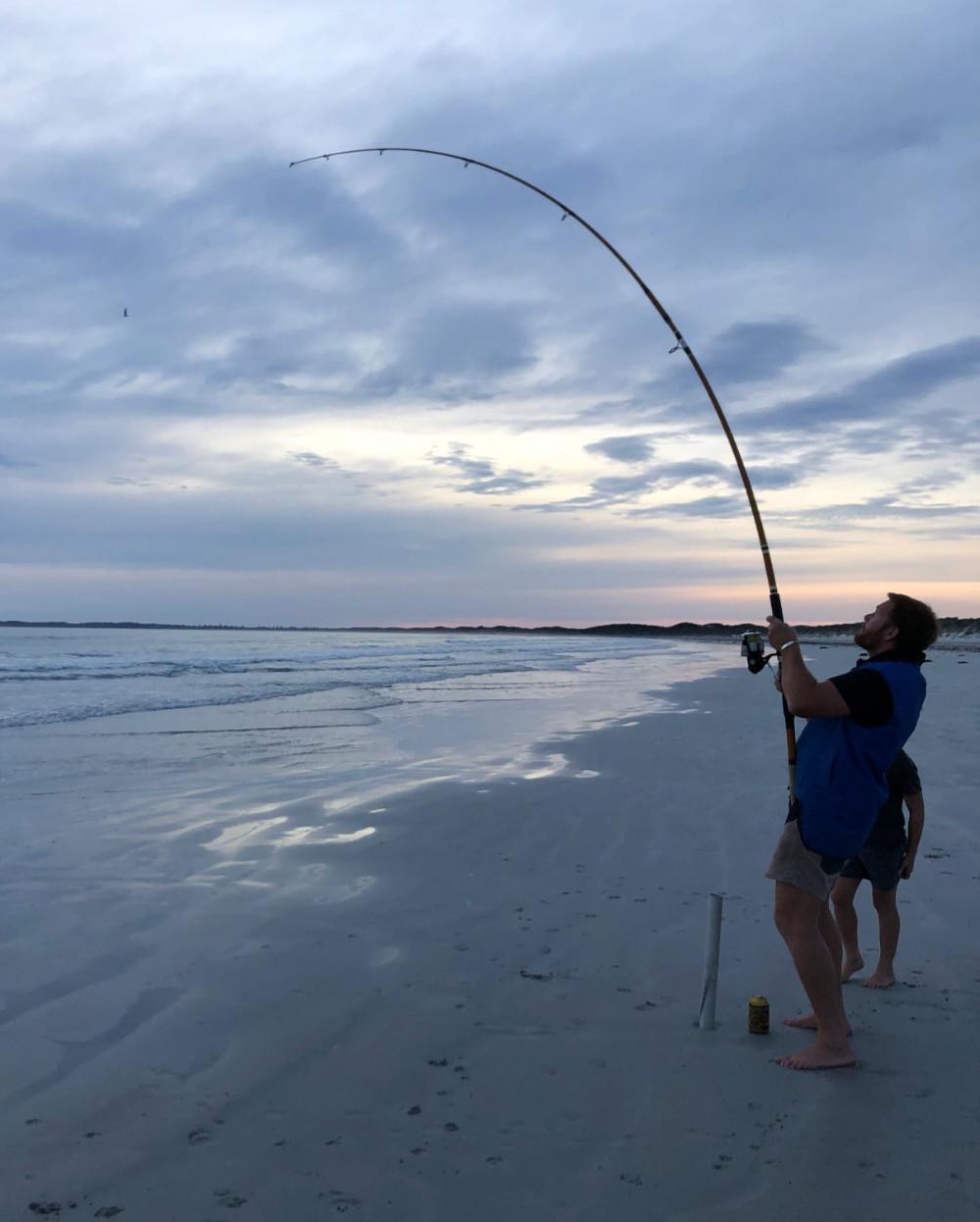 beachport beach fishing