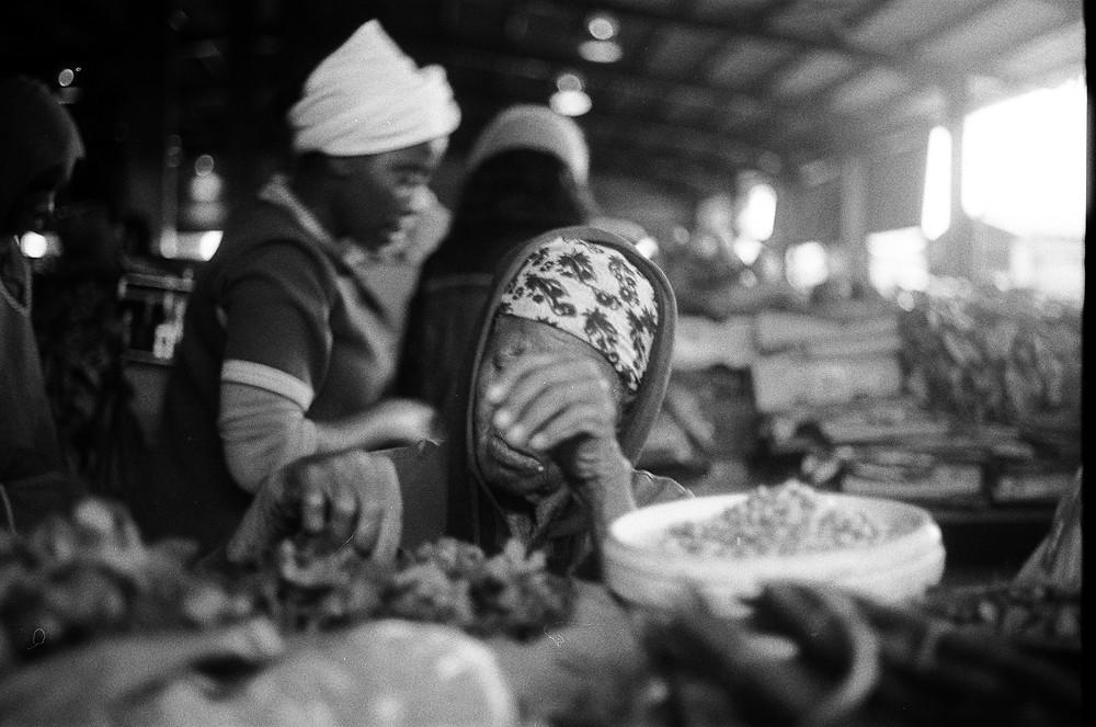 idosa em Maputo Moçambique