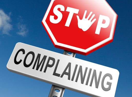 Is complaining good or bad?