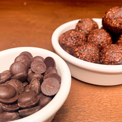 Quick Chocolate Power Ball