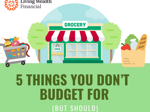 5 Things You Don't Budget For (...But Should)