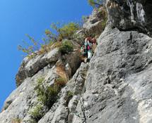 Stage jeune 12-16 ans escalade Haute-Savoie